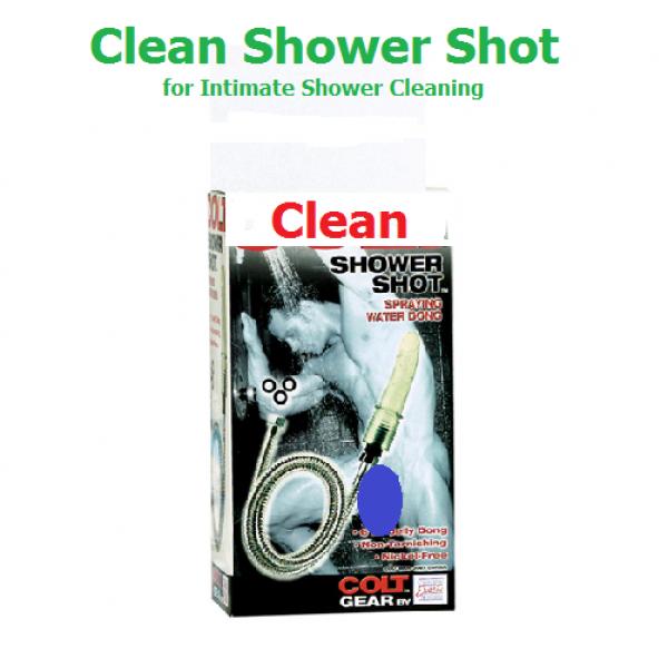Clean Shower Shot