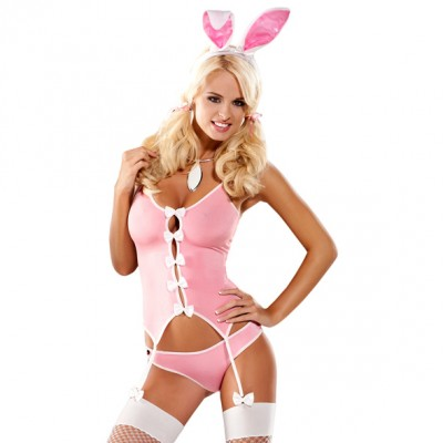Obsessive Bunny Suit - Pink