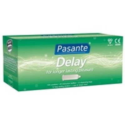 Pasante Delay Condoms - 144 Clinic Pack